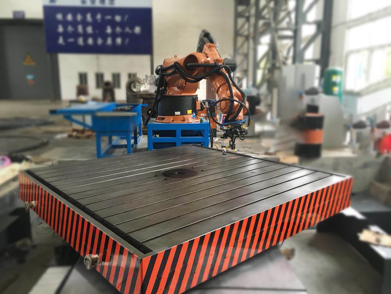 自動化研究所大型掃描打磨專機(靜壓懸浮轉臺)